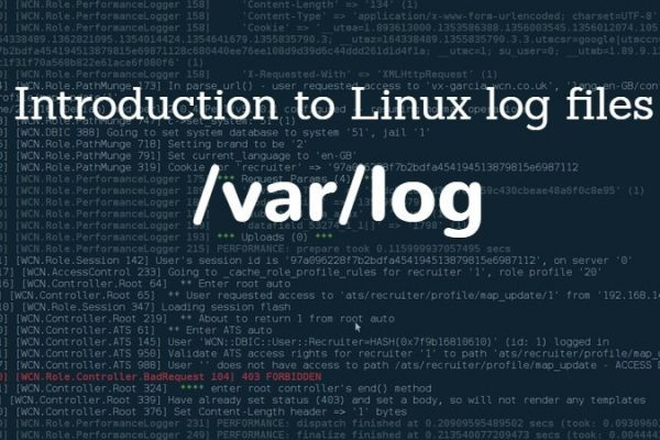 linux log