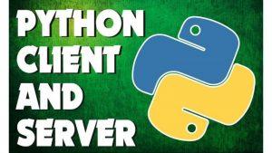 python client server