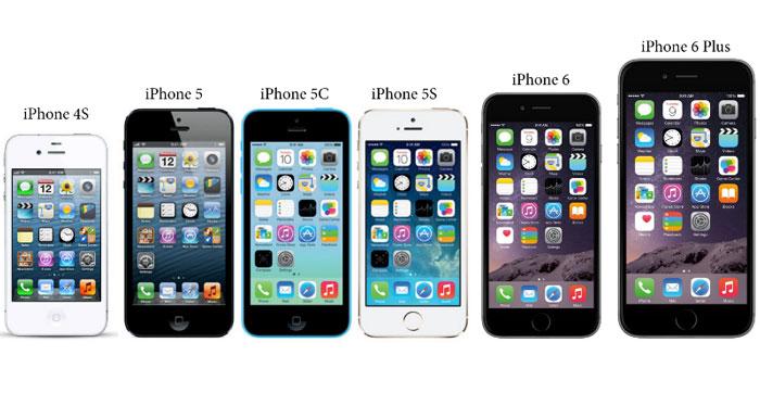 سری پیشرفت iPhone
