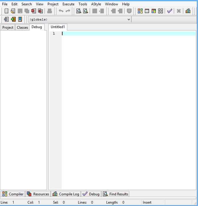 محیط برنامه نویسی