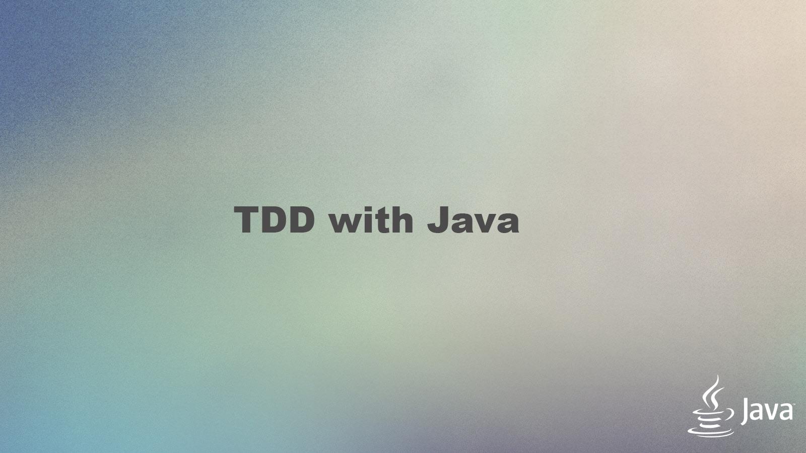 TDD_java