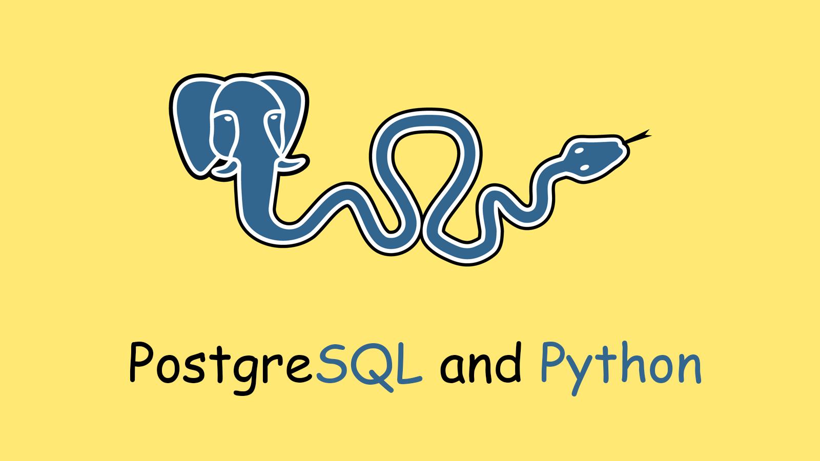 postgresql-and-python
